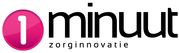Logo 1Minuut Zorginnovatie Genzõ Smart Glass Vuzix M300 Deskundigheid op Afstand Zorgprestatie