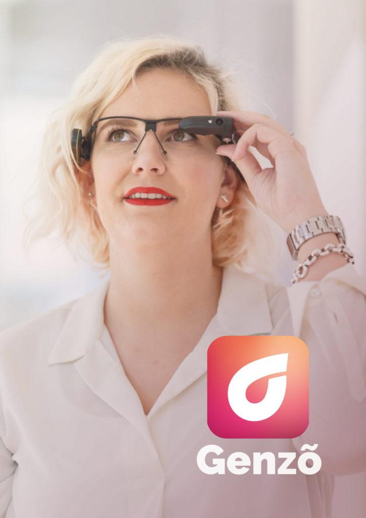 Genzõ Deskundigheid op afstand via Smart Glass 1Minuut Zorginnovatie